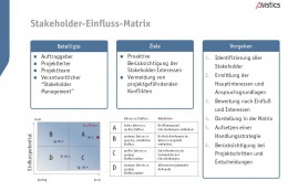 Download Avistics Stakeholder-Einfluss-Matrix