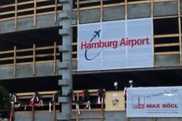 Richtfest am Flughafen Hamburg